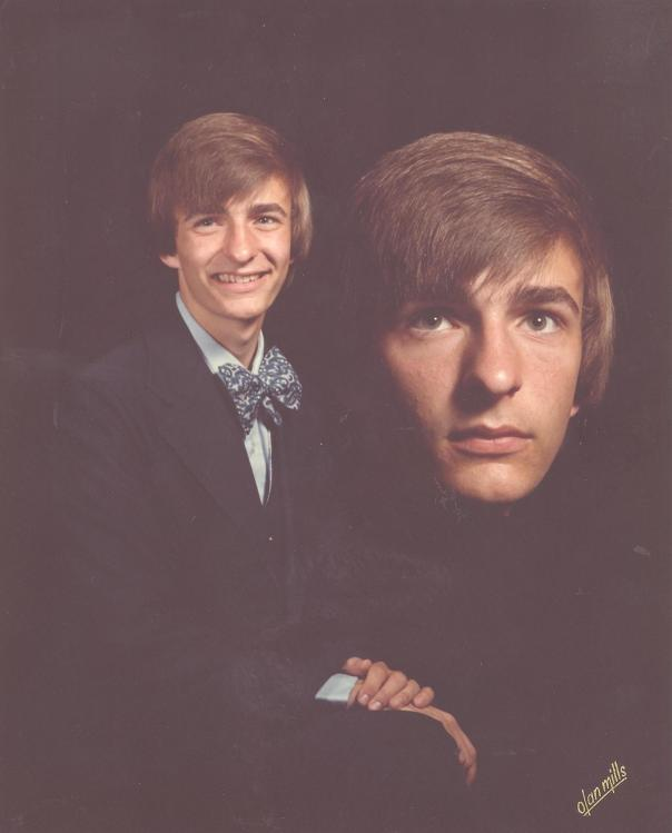 1978, my senior photo.