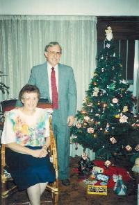 My parents at Christmas 1992 in Buenos Aires.