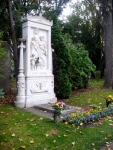 Schubert's grave, right next to Beethoven.