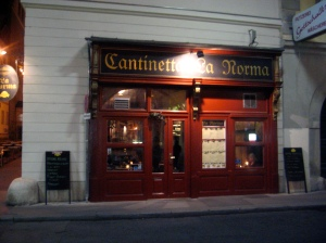 La Norma restaurant, Vienna.