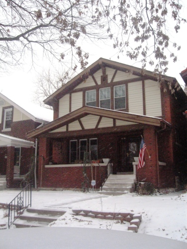 The new, 25 Lawn Place, on January 27.
