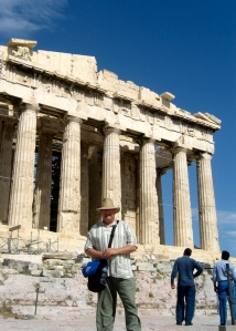 JC at the Parthenon, May 21, 2009.