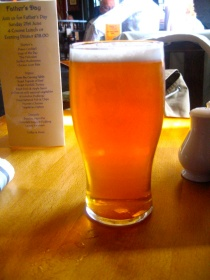 My first and so far only London beer this trip.