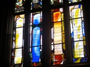 The Herbert Howells window in the Lady Chapel, Gloucester Cathedral.