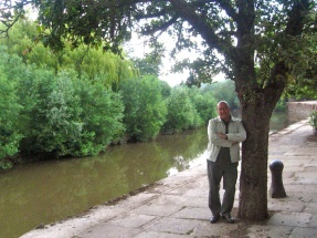 JC by the River Severn, Gloucester.