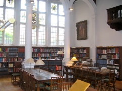 The research reading room at the Royal School for Music in London.