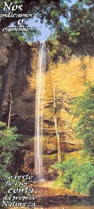 A commercial shot of that same waterfall.