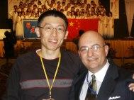 2003. With Loo in Malaysia.
