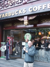 2005. Starbucks in Yu Yuan, Shanghai.