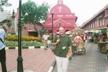 2003. In historic Melaka, Malaysia.