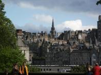 2002. Edinburgh, the Old Town.