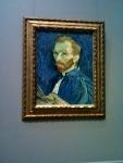 Van Gogh in a self-portrait.