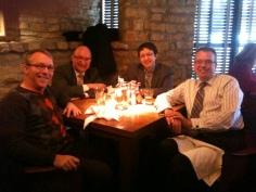 L-R: Todd Neff, JC, Misha, Tom Flint.