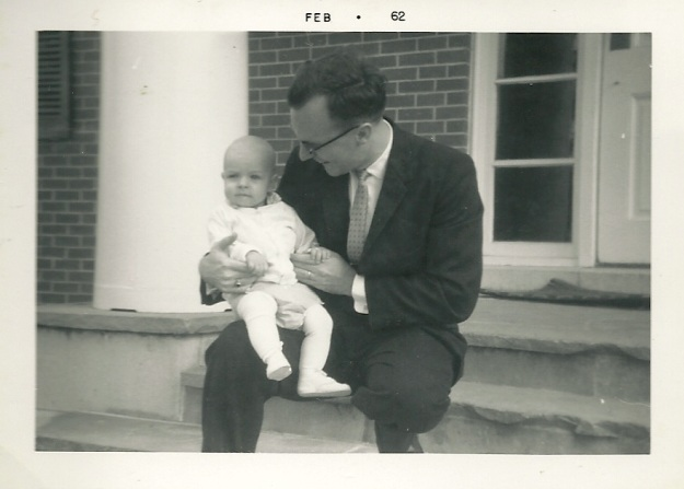 Pop and baby JC