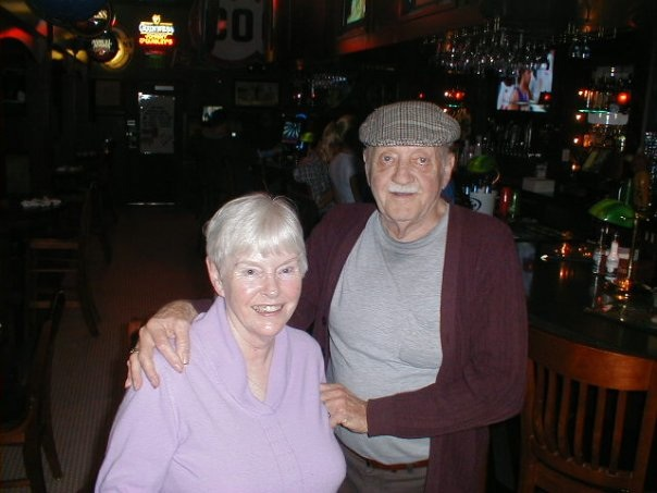 Uncle Edwin with his wife, Mary.