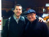 Adam Hendrickson and me.