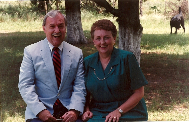 My parents in Argentina at a missionary conference.
