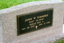 John Summers, my great-uncle by marriage. He is Esther's husband. And very much loved and missed.
