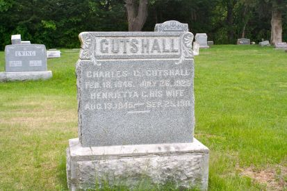 Great-great-grandparents Gutshall, my mother's great-grandparents.