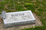 Gram Blocher and her husband, my mother's paternal grandparents. I have the vaguest recollection of Gram Blocher, for whom I would have been the second great-grandchild. And I have a couple of her teaspoons in my kitchen drawer.