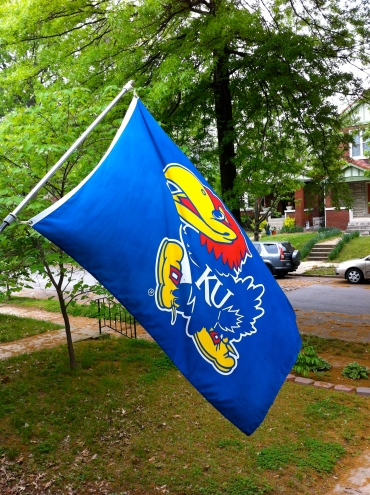 I am indeed a proud Jayhawk.