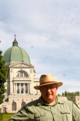 Me at St. Joseph's Oratory in Montreal.