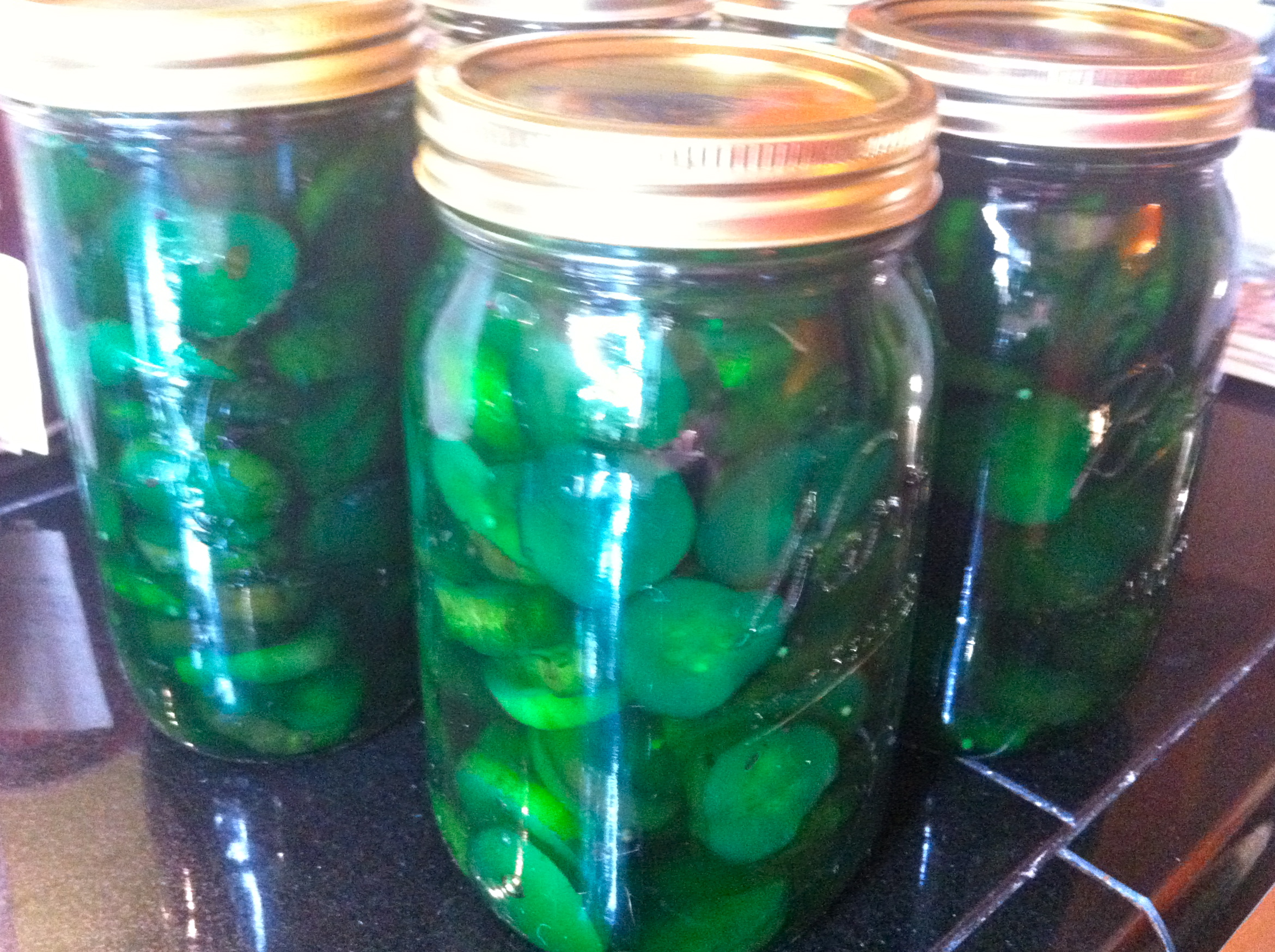 Lime pickles | and sure stars shining . . .