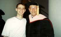 With my dear friend BJ Smith at my doctoral hooding. I visited Beej this summer in Denver.