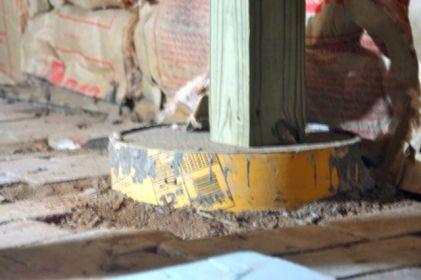 Back porch detail.