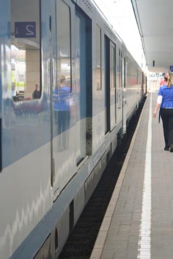 My train from Wien.