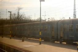 Passing thru a Hungarian city.