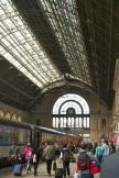Budapest station.