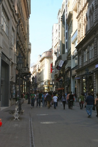 Main shopping street.