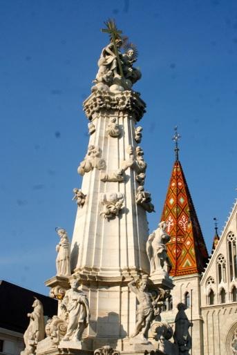 Plague Monument in Castle District.