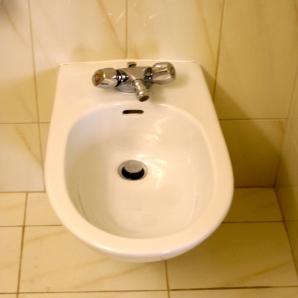 I have a bidet in my bath!