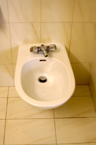I have a bidet in my bath!