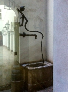 An old water pump.