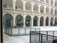 Spanish Riding School courtyard.