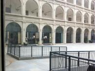 Spanish Riding School courtyard.