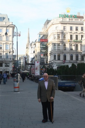 Me by the Staatsoper.