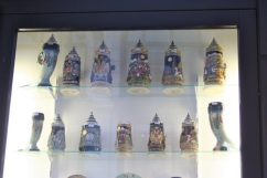 And old-fashioned beer steins!