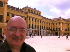 Me at Schoenbrunn.