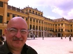 Me at Schoenbrunn.