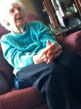 .Aunt Esther. 101 years old