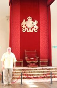 At the Banqueting House