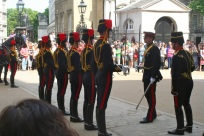 Dismounting Ceremony at Horse Guards.
