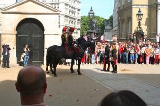 More Horse Guards.