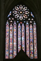 The great west window.