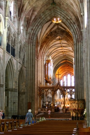 Looking toward the Quire.