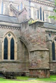 Not many buttresses here, but this one is large!